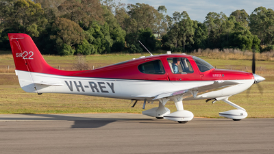 VH-REY - Cirrus SR22 - Private