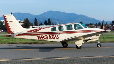 N6346U - Beechcraft B36TC Bonanza - Private