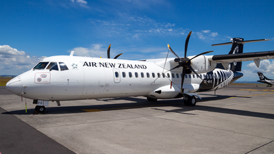A picture of ZKMVO - ATR 72600 - Air New Zealand - © Dominic Oakes