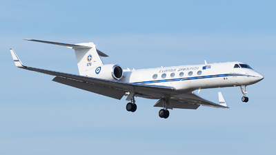 678 - Gulfstream G-V - Greece - Air Force
