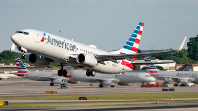 A picture of N976AN - Boeing 737823 - American Airlines - © Yan777