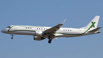 9H-FCM - Embraer 190 Lineage 1000 - Air X Charter