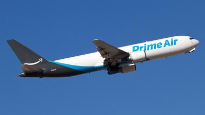 A picture of N431AZ - Boeing 767381(ER)(BCF) - [24632] - © Jeremy D. Dando