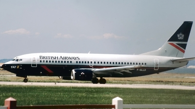 F-GLLD - Boeing 737-3Y0 - British Airways (TAT European Airlines)