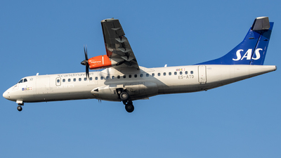 ES-ATD - ATR 72-212A(600) - Scandinavian Airlines (Nordica)