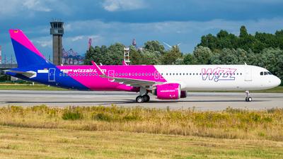 D-AVZB - Airbus A321-271NX - Wizz Air