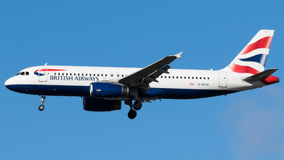 G-EUYA - Airbus A320-232 - British Airways