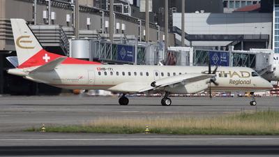 HB-IYI - Saab 2000 - Etihad Regional (Darwin Airline)