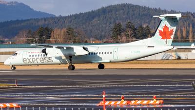 A picture of CGGMN - De Havilland Canada Dash 8400 - Air Canada - © Grant Gladych