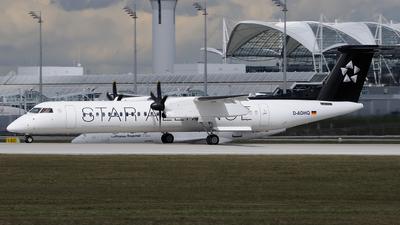 D-ADHQ - Bombardier Dash 8-Q402 - Swiss (Augsburg Airways)