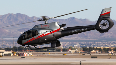 N879MH - Eurocopter EC 130T2 - Maverick Helicopters