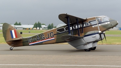 G-AGJG - De Havilland DH-89A Dragon Rapide - Private
