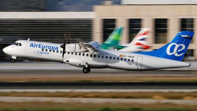 A picture of ECMSN - ATR 72500 - Air Europa - © Jero Vida