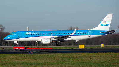 A picture of PHEZO - Embraer E190STD - KLM - © Julian Maas