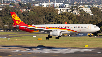A picture of BLNQ - Airbus A330343 - Hong Kong Airlines - © Clinton_vern