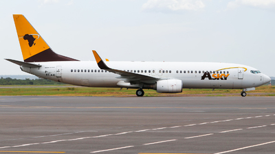 ET-AXI - Boeing 737-85R - ASky Airlines
