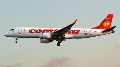 YV2911 - Embraer 190-100IGW - Conviasa