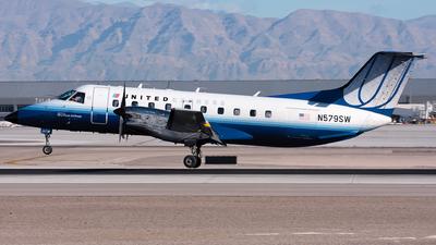 N579SW - Embraer EMB-120ER Brasília - United Express (SkyWest Airlines)