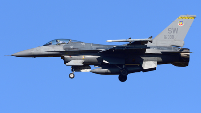 91-0398 - General Dynamics F-16CJ Fighting Falcon - United States - US Air Force (USAF)