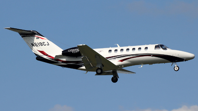 A picture of N619CJ - Cessna 525B CitationJet CJ3 - [525B0619] - © n94504