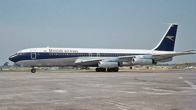 G-APFN - Boeing 707-436 - British Airways