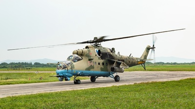 RF-13384 - Mil Mi-35M Hind - Russia - Air Force