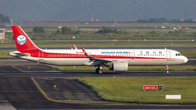 B-1055 - Airbus A321-271N - Sichuan Airlines