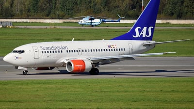 LN-RCU - Boeing 737-683 - Scandinavian Airlines (SAS)