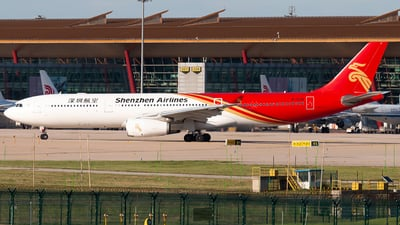 A picture of B1036 - Airbus A330343 - Shenzhen Airlines - © william8252
