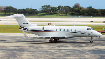 N91HK - Bombardier BD-100-1A10 Challenger 300 - Private