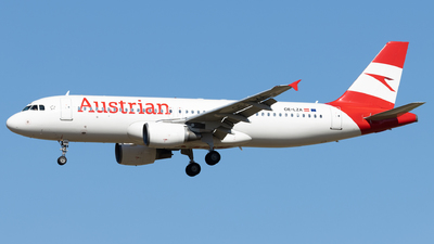 OE-LZA - Airbus A320-214 - Austrian Airlines