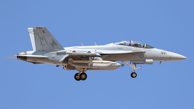 168766 - Boeing EA-18G Growler  - United States - US Navy (USN)