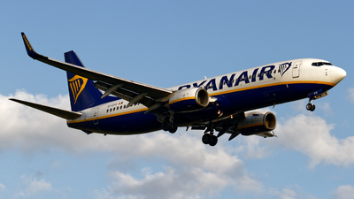 A picture of EIDYD - Boeing 7378AS - Ryanair - © Ryan McGrath