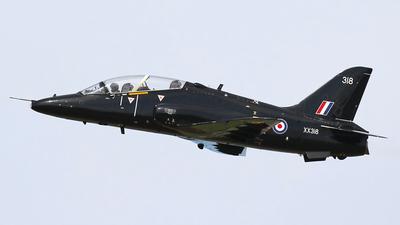 XX318 - British Aerospace Hawk T.1A - United Kingdom - Royal Air Force (RAF)