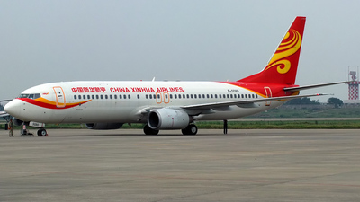 B-5080 - Boeing 737-86N - China Xinhua Airlines
