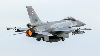 4068 - Lockheed Martin F-16C Fighting Falcon - Poland - Air Force
