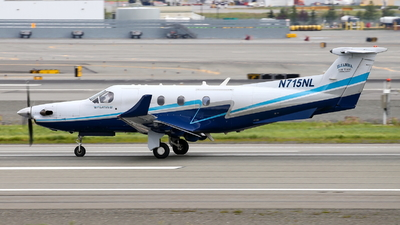 N715NL - Pilatus PC-12/45 - Iliamna Air Taxi