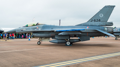 J-624 - General Dynamics F-16AM Fighting Falcon - Netherlands - Royal Air Force
