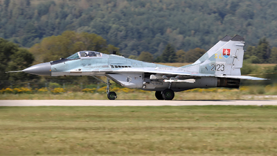 2123 - Mikoyan-Gurevich MiG-29AS Fulcrum - Slovakia - Air Force
