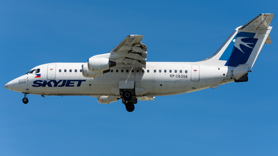 RP-C6358 - British Aerospace BAe 146-200 - Skyjet