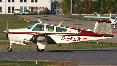 D-EKLW - Beechcraft V35B Bonanza - Private