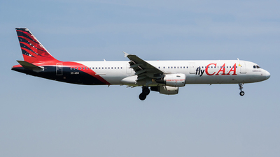 9S-ASB - Airbus A321-211 - Compagnie Africaine d Aviation (CAA)