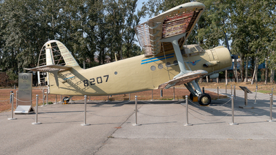 B-8207 - Nanchang Y-5 - China - Civil Aviation Flight College (CAFC)