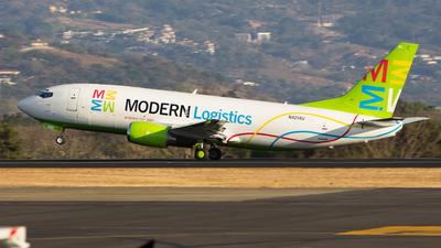 N421AU - Boeing 737-3L9(QC) - Modern Logistics