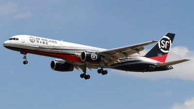 A picture of B7342 - Boeing 7572G5(PCF) - SF Airlines - © M.T