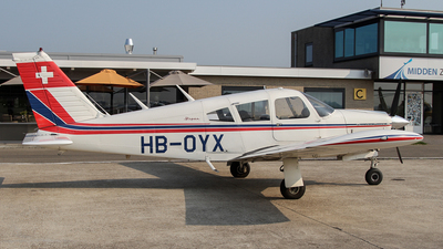 HB-OYX - Piper PA-28R-180 Cherokee Arrow - Private
