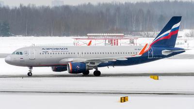 A picture of VPBLO - Airbus A320214 - Aeroflot - © Alexander Lebedev