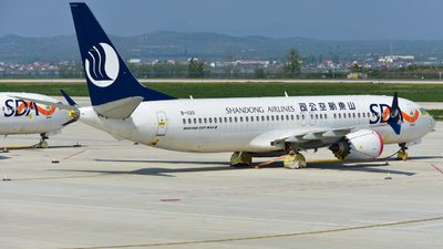 B-1120 - Boeing 737-8 MAX - Shandong Airlines