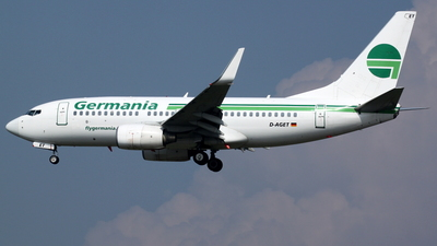 D-AGET - Boeing 737-75B - Germania