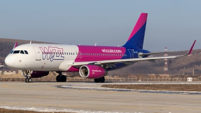 A picture of HALYS - Airbus A320232 - Wizz Air - © Zoltán Gyurka